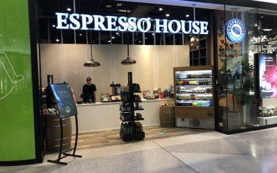 Espressohouse i Malmö Emporia.
